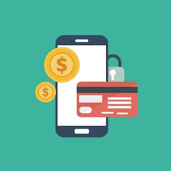 Pagamentos com cartão de crédito on-line