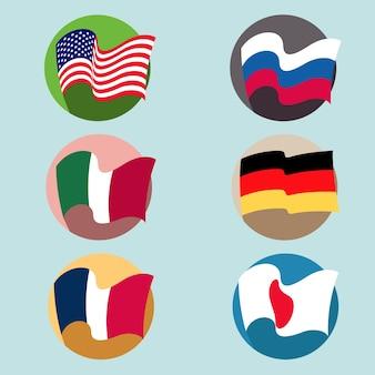 País de bandeira