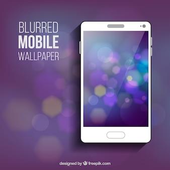 Papel de parede desfocado para celular