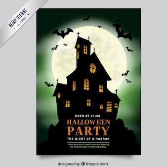 Partido de Halloween casa assombrada