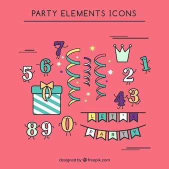 Partido Icon Set