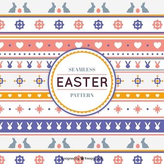 Páscoa bonito faz fronteira com padrões