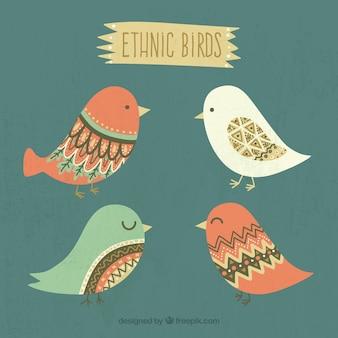 Pássaros consideravelmente étnica