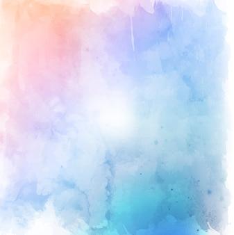 Pastel grunge do estilo da aguarela do fundo da textura