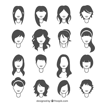 Penteados mulher