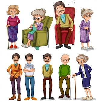 Pessoas velhas