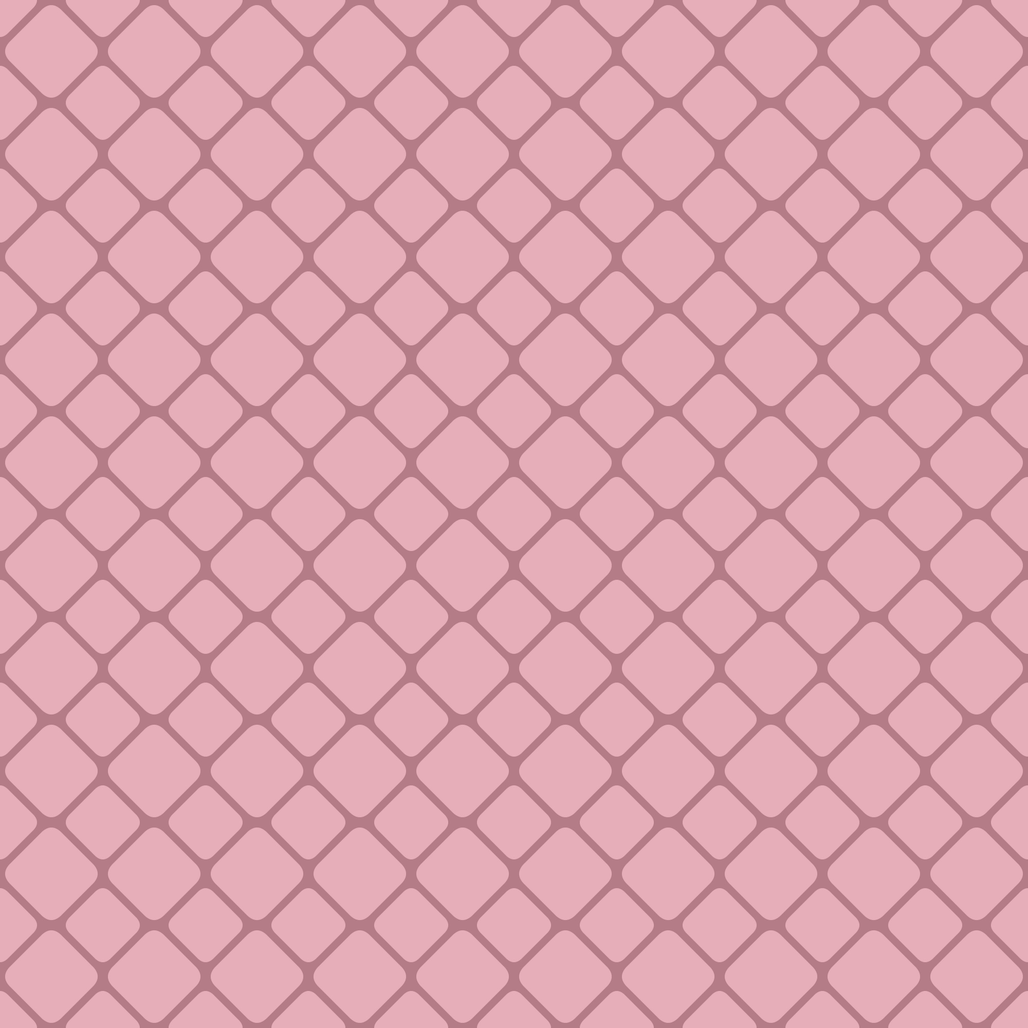 Pink abstract seamless rounded square grid pattern background design - design gráfico de vetores