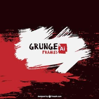 Pintura do grunge do vetor