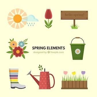 Plano acessórios primavera pacote