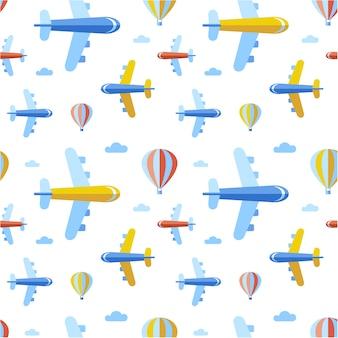 Plano de fundo dos aviões