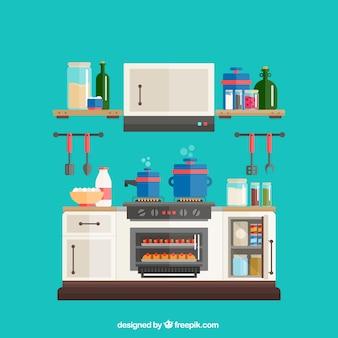 Plano Utensílios de Cozinha Pacote