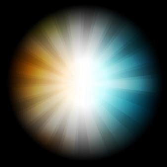 Pontos coloridos do vetor. Círculos de fundo abstratos