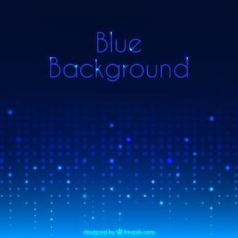Pontos fundo azul brilhante