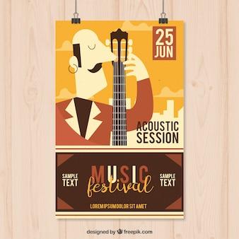 Poster do festival de música