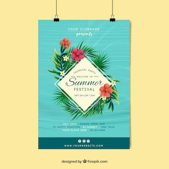Poster do festival do verão