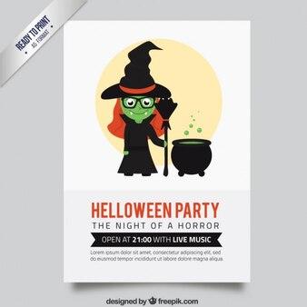 Poster do partido da bruxa