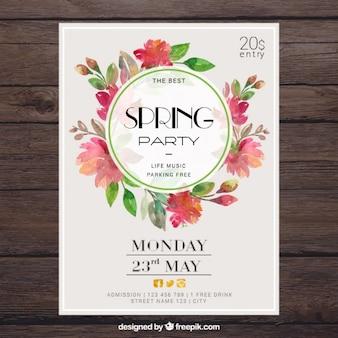 Poster do partido da Primavera Floral