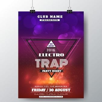 Poster trap electro