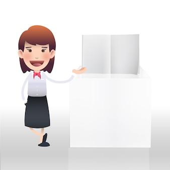 Profissional pessoa texto trabalho apresentação