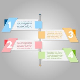Projeto Colorido infográfico