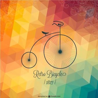Projeto da bicicleta retro livre
