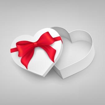 Projeto da caixa da forma do coração