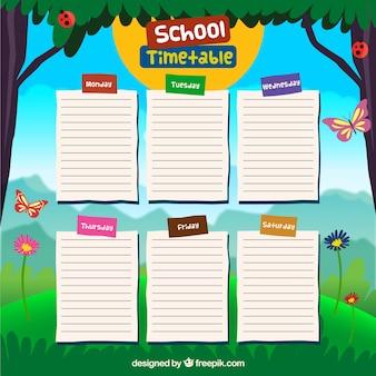 Projeto da escola calendário