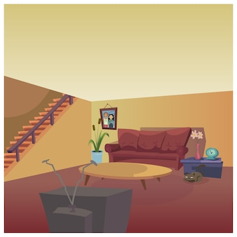 Projeto da sala de estar