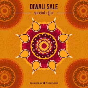 Projeto de fundo da venda Diwali