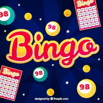 Projeto de fundo de Bingo