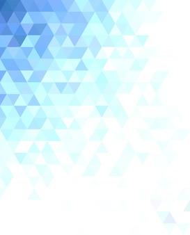 Projeto de fundo de mosaico de triângulo abstrato