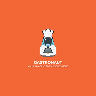 Projeto de logotipo de gastronomia