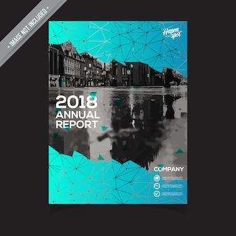 Projeto de relatório anual abstrato