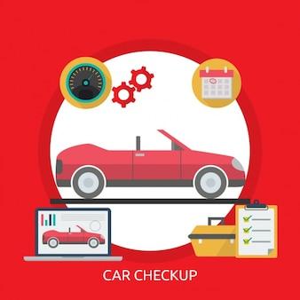 Projeto do carro checkup fundo