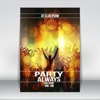Projeto do cartaz do partido