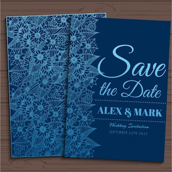 Projeto do convite do casamento
