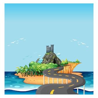 Projeto do fundo da Ilha