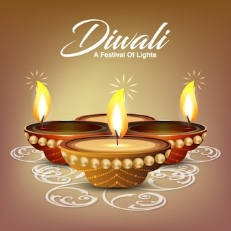 Projeto do fundo do Diwali