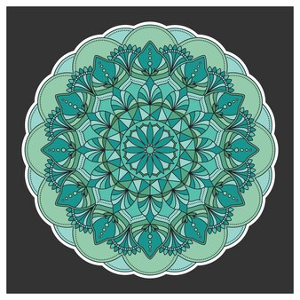 Projeto do fundo do Mandala