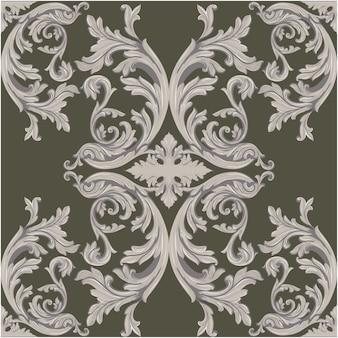 Projeto do fundo do ornamental