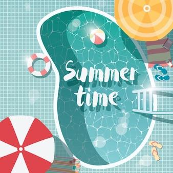 Projeto do fundo do verão