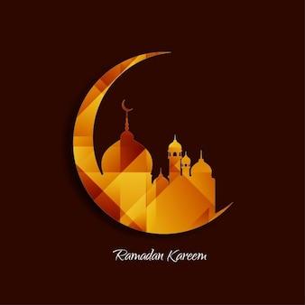 Projeto do fundo islâmica religiosa