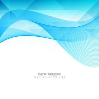 Projeto do fundo moderno abstrato azul