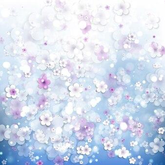 Projeto floral do fundo