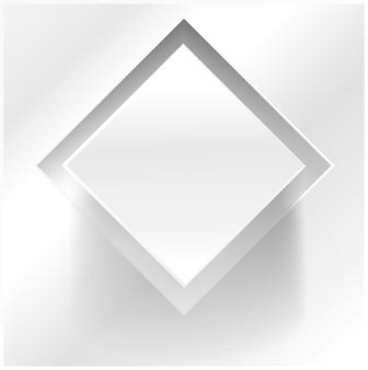 Quadrado abstrato abstrato do vetor. Designer de Web
