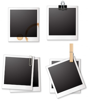 Quadros polaroid