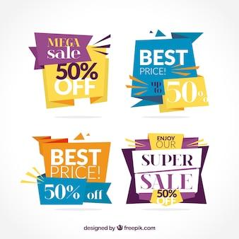 Quatro ofertas de banner
