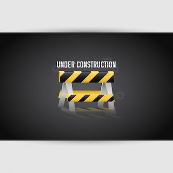 """""""Em construção"""" de design"""
