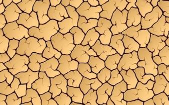 Rachado pacote vetor terra seca