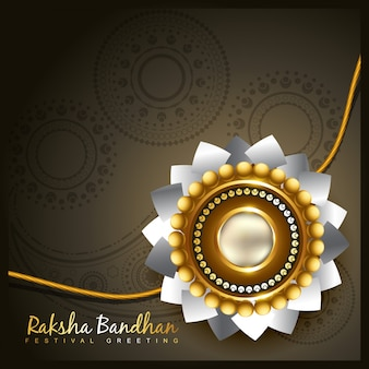 Raksha bandhan festival fundo do vetor